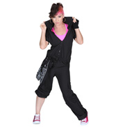 Short Sleeve Cargo Jumpsuit