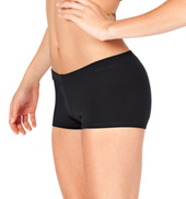 Adult Low Rise Supplex Dance Shorts