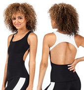 Adult Open Racerback Tank Top