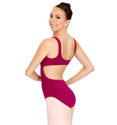 Cut Out Supplex Tank Leotard