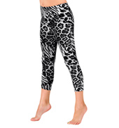 Girls Leopard Print Leggings