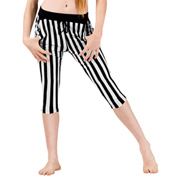 Girls Striped Semi Harem Pants
