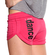 Adult I Am Dance Fleece Shorties