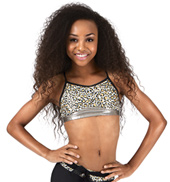 Girls Cheetah Print Camisole Bra Top