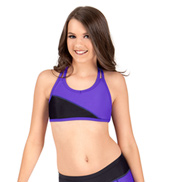 Girls Color Block Tank Bra Top