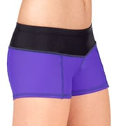 Girls Color Waistband Shorts