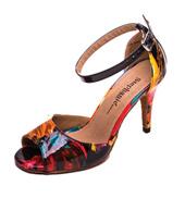 Ladies 3.5 Salsa/Tango Series Tropical Print Ballroom Shoe