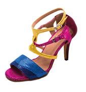 Ladies 3.5 Salsa/Tango Series Rainbow Ballroom Shoe