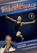 Gold Medal Gymnastics Drills: Floor DVD