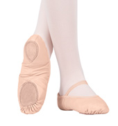 Adult Neoprene Arch Leather Split-Sole Ballet Slipper