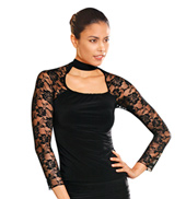 Square Neck Lace Top