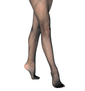 Child Basic Footed Fishnet Tights