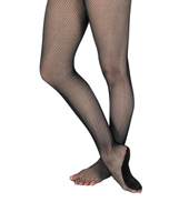 Adult Professional Footed Fishnet Tights