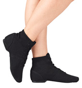 Adult Broadway Jazz Over the Ankle Canvas Jazz Boot