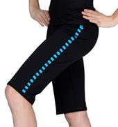 Performance Essentials Reversible Stripe Dance Short