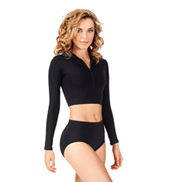 Adult Turtleneck Long Sleeve Top