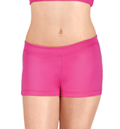Girls Boy Cut Low Rise Dance Shorts
