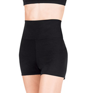 Adult Team Basic High Waist Dance Shorts