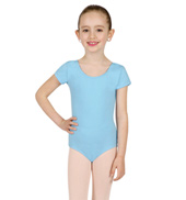 Child Economy Short Sleeve Leotard