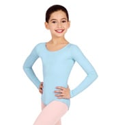 Child Basic Long Sleeve Leotard