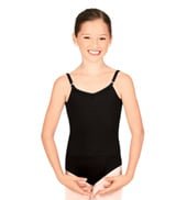 Girls Adjustable Strap Leotard