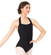 Adult Pull-Over Halter Leotard