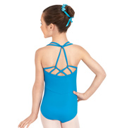 Girls Geometric Tank Leotard