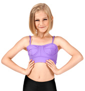 Girls Camisole Bralette Crop Top