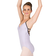 Adult Tactel Strappy Back Camisole Leotard
