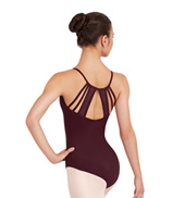 Adult Mosaic Back Princess Camisole Leotard