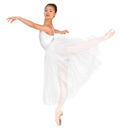 Adult Giselle 2 Layer Camisole Tutu Dress