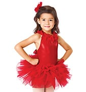 Everythings Coming Up Roses Child Tutu Dress