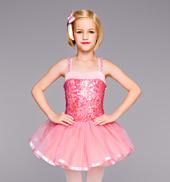Pink Perfection Girls Tutu Dress