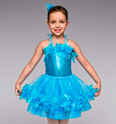 Summer Breeze Girls Tutu Dress