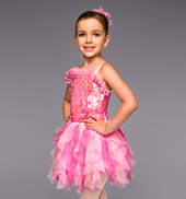 Cotton Candy Girls Tutu Dress