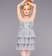 Rainy Days Girls Ruffle Dress
