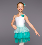 Mint to Be Girls 3-Tier Tutu Dress