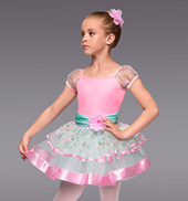 Spring Morning Girls Tutu Dress
