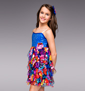 Morning Glory Girls Empire Waist Dress