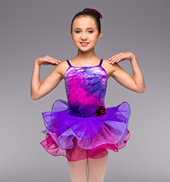 Purple Twilight Girls Tutu Dress