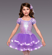 Honey Bun Girls Tutu Dress