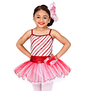 Peppermint Pirouettes Girls Tutu Dress