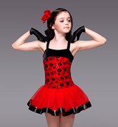 Spanish Eyes Girls Tutu Dress