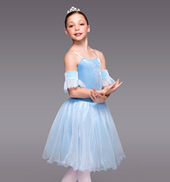 Winter Princess Girls Romantic Tutu Dress