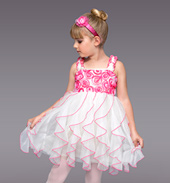 Spoonful of Sugar Girls Spiral Dress