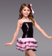Ooh La La Girls 3-Tier Tutu Dress