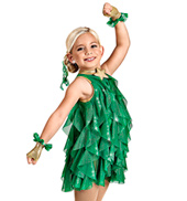 O Tannenbaum Girls Spiral Dress