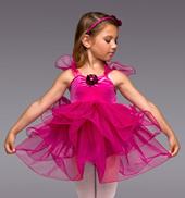 Too Cute Girls Ruffle Dress