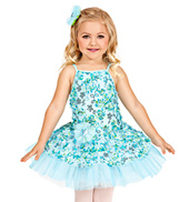 Garden Waltz Girls Tutu Dress