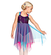 Breakaway Girls Handkerchief Dress